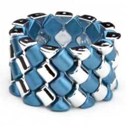 Carnival Corsage Bracelet - Blue