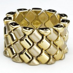 Carnival Corsage Bracelet - Gold