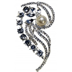 Parfait Brooch Pin - Silver (7cm Length on 15cm Pin)