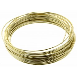 Aluminium Wire - Gold (2mm x 100g)