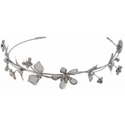 Willow Headband - Silver (14cm Diameter)