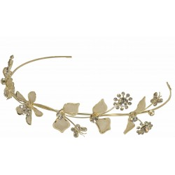 Willow Headband - Gold (14cm Diameter)