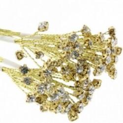 5mm Diamante Branch - Gold (3bunches x 6 stems per bag)