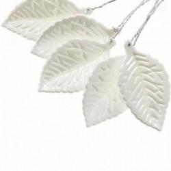 Pearl Leaf - Pearl White (11cm Long, 50pcs per pk)