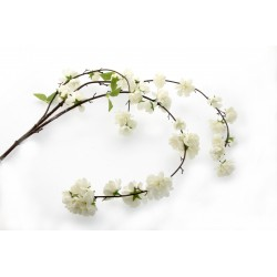 Large Cherry Blossom Spray - Cream (95cm Long)