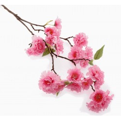 Small Cherry Blossom Spray - Dark Pink (75cm Long)