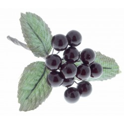 Berries - Burgundy (1cm diameter, 6 bunches per pk)