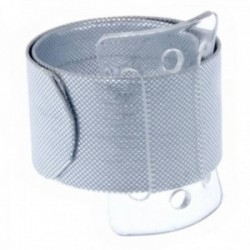 Snap Bands - Silver (2pcs per pk)
