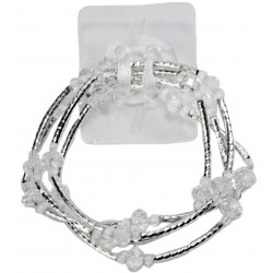 Angel Fire Corsage Bracelet - Clear