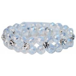Hailie Corsage Bracelet - Clear
