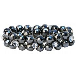Hailie Corsage Bracelet - Silver